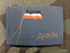 German WWI Photo Album Flag Cover (Almost Empty)