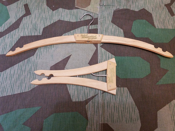 German Wooden Collapsible Hanger