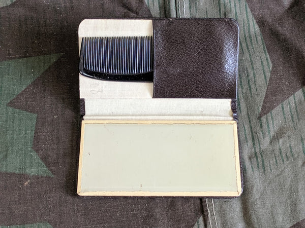 Pocket Comb and Mirror Case