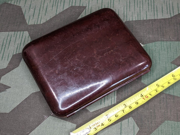 Brown Bakelite Cigar Case D.R.P.a.