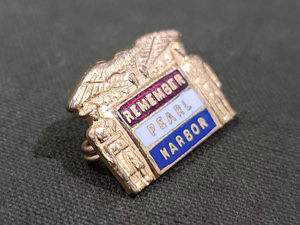 Small Remember Pearl Harbor Pin