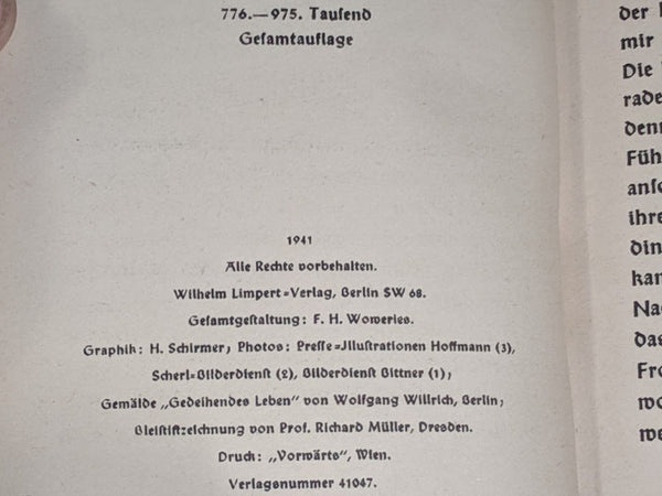Deutsche Fibel 1941 Book