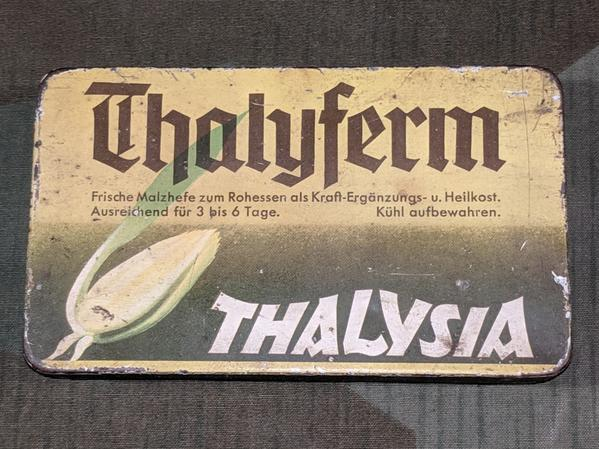 Thalysia Yeast Tin with 2 Magazines