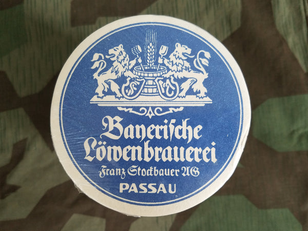 Roll of Bayerische Löwenbrauerei Beer Coasters (~100 Pieces)