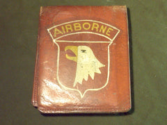 WWII US 101st Airborne Wallet + ID Card