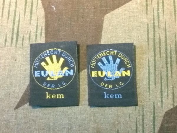 Reproduction Mottenecht Moth Protection Tags