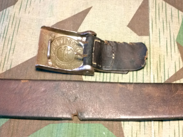 Original Heer Belt with Buckle and Tab