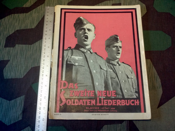 Original Soldier's Songbook For Piano