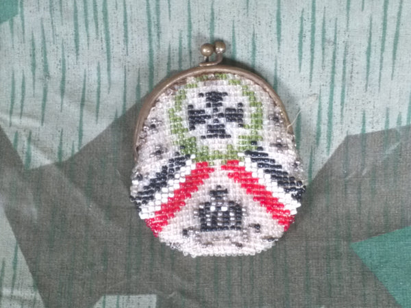 WWI Beaded Coin Purse
