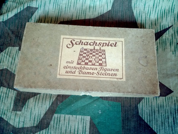 Period Schachspiel Chess/Checkers/Dame Game