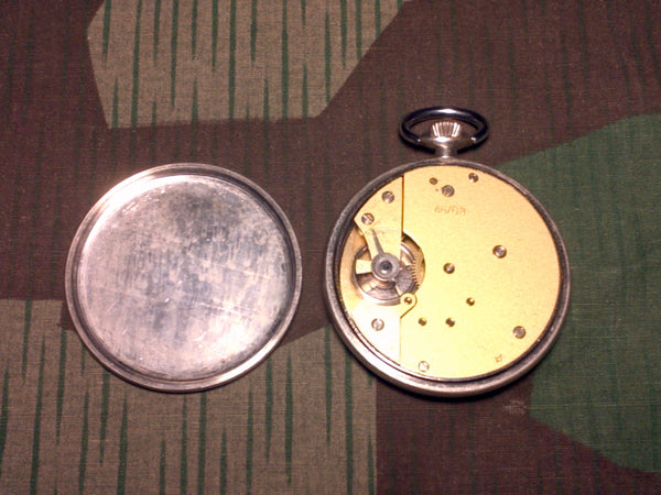 Period Kienzle Black Face Pocket Watch