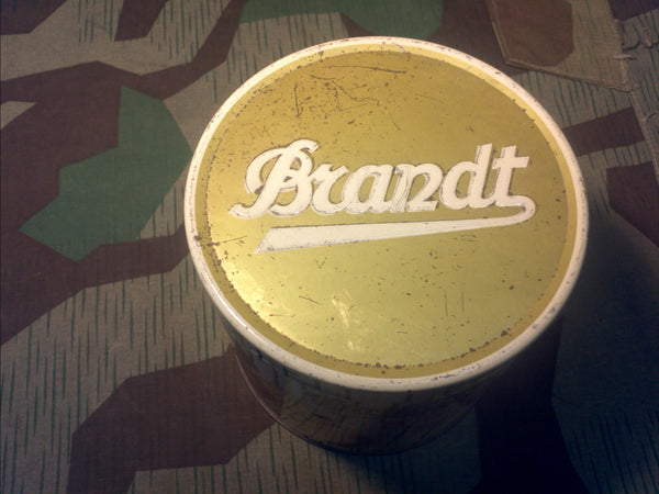Period Brandt Cookie Tin