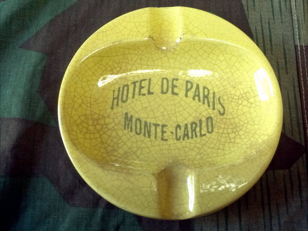 1930s Hotel De Paris Monte Carlo Ashtray and Guide Books
