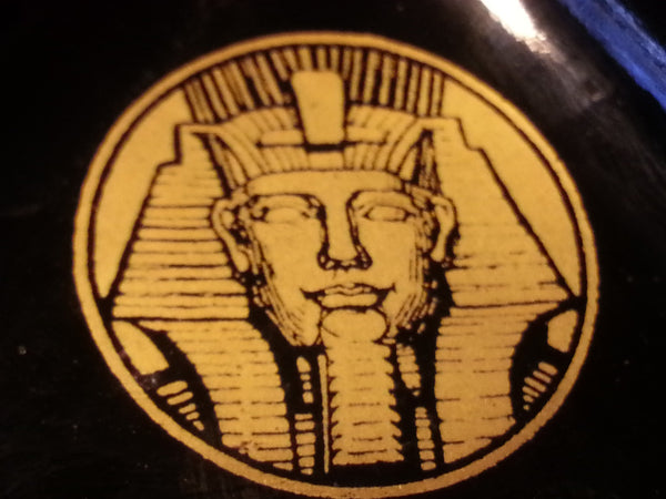 "Wehrmacht Brothel Glass Ashtray ""Le Sphinx"""