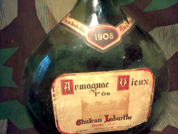Original French Champagne Bottle 1908