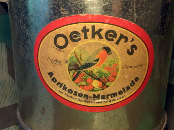 Oetker's Marmalade Can