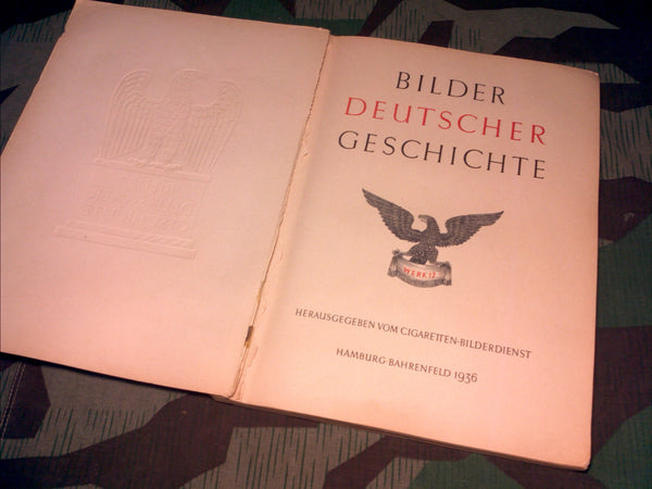Bilder Deutscher Geschichte Cigarette Photo Book