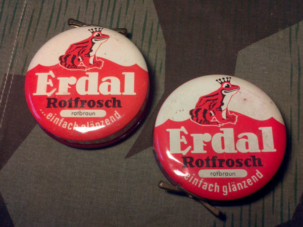 Period Erdal Shoe Polish Tins