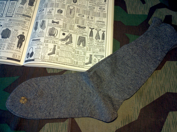 Original German Light Gray Socks (~Size 2-3)