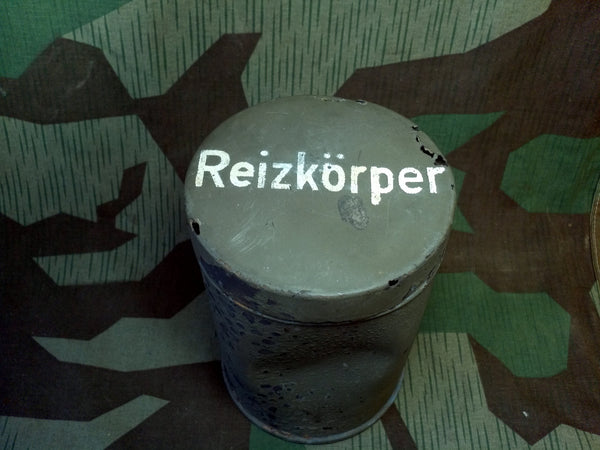 WWII German Tear Gas Reizkörper Can from Stalingrad