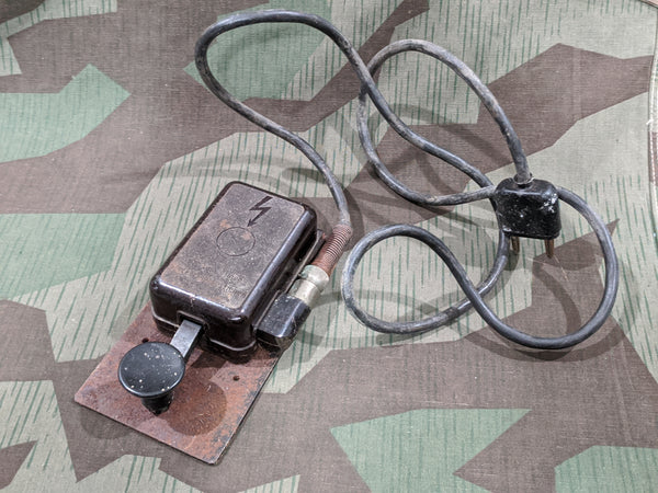 WWII German Complete Morse Code Key