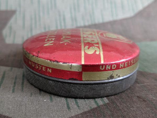 Kaiser's Salmiak-Pastillen Salty Licorice Tin