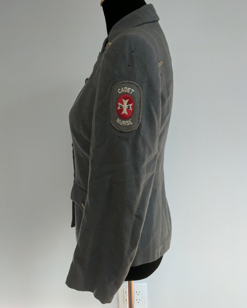 "Cadet Nurse Uniform Tunic <br> (B-35"" W-30"")"
