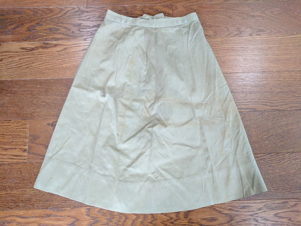 "WAC Tan Skirt (As-Is) - 25"" Waist"