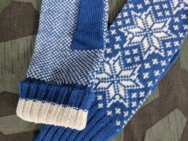 Original German Snowflake Mittens