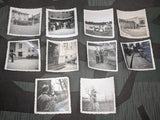 Group of 10 Original German Photos