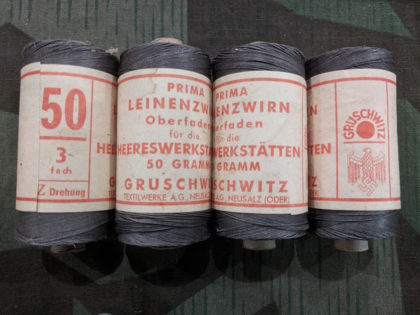 Original Feldgrau Thread Heerswerkstätten For Army Work Shops