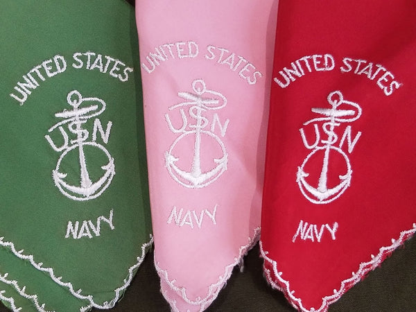 US Navy Sweetheart Hankies