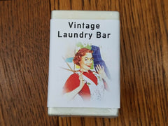 Laundry Soap Bar for Vintage Clothing