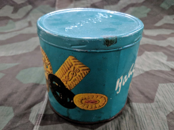 Bahlsen Express Blue Cookie Tin