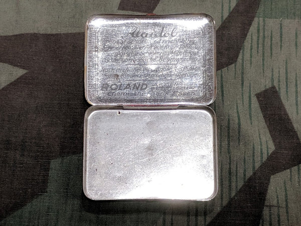 Alaidol Pill Tin for Pain Medicine