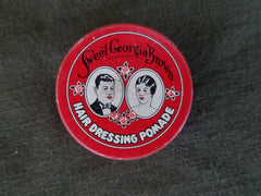 New Old Stock Vintage 1930s US Hair Dressing Pomade Tin