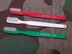 New Reproduction WWII German Chlorodont Toothbrushes