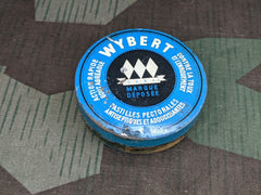 Wybert Blue Cough Drop Etc. Tin French