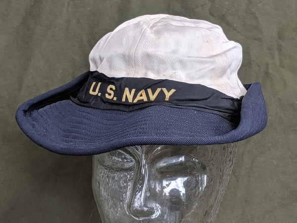 WAVES Service Hat Woman's US Navy (Size 23)
