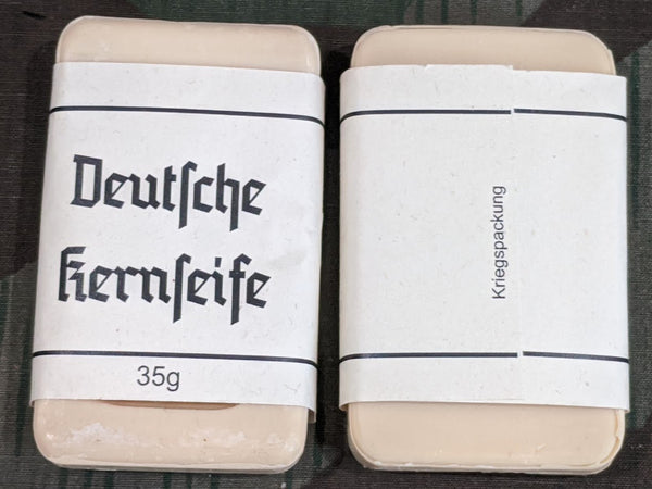Small Travel Soap with Label