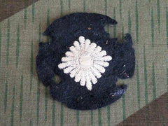 Original WWII German Moth Eaten Oberschütze Rank Patch