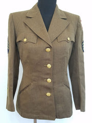 Original WWII Winter WAC WAAC Women's Uniform Jacket 14S