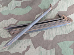 Original WWII German Tent Stakes Marked gyq 43