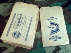 Original German WWI Soldier Tobacco Sales Bag