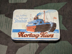 Original Nortag Kurs Tobacco Tin Nordhausen