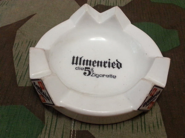 Original Pre-WWII German Eckstein Cigarette Ashtray