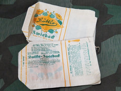 Original Pre-WWII German Zwieback Bread Paper Sales Bags