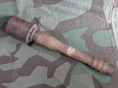 Original WWII German 1942 Stick Grenade