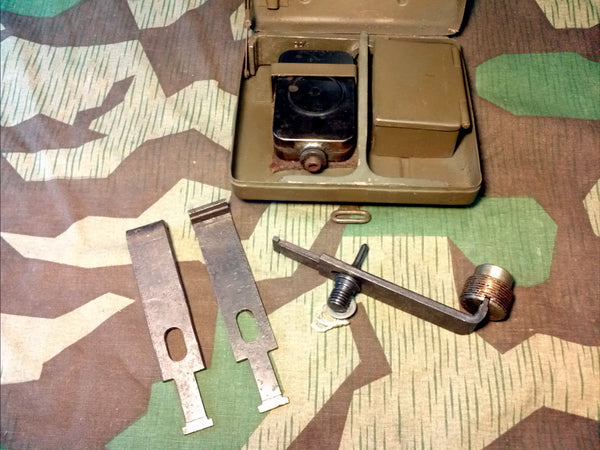 Original WWII German 8cm Mortar Bolt Wrench Late War