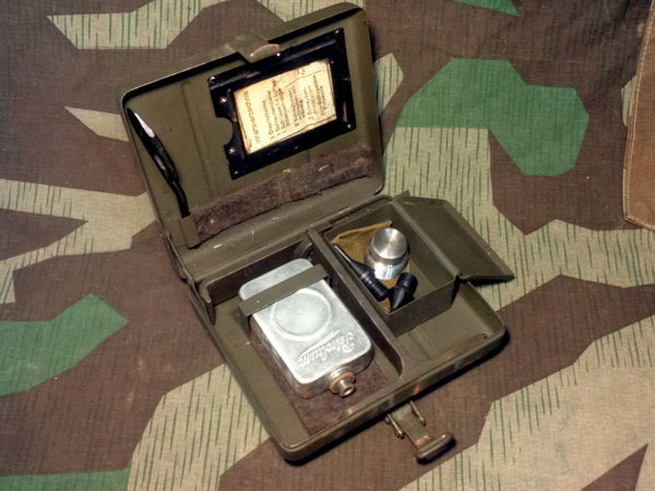 Original WWII German 8cm or 5cm Mortar Tool Kit FULL!